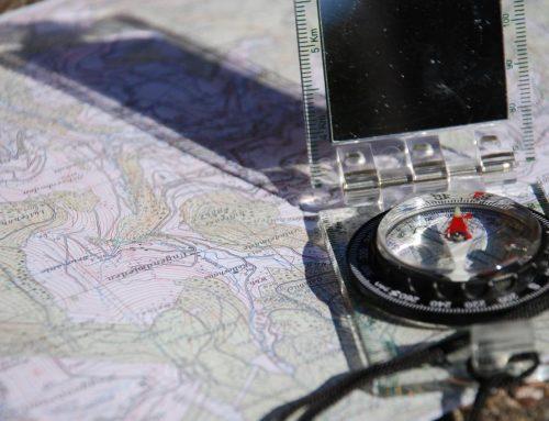 Karte/ Kompass